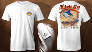 2019 Black Bart World Cup Blue Marlin T's for Sale